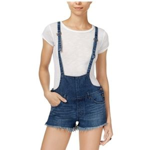 Free people strappy shortalls 28
